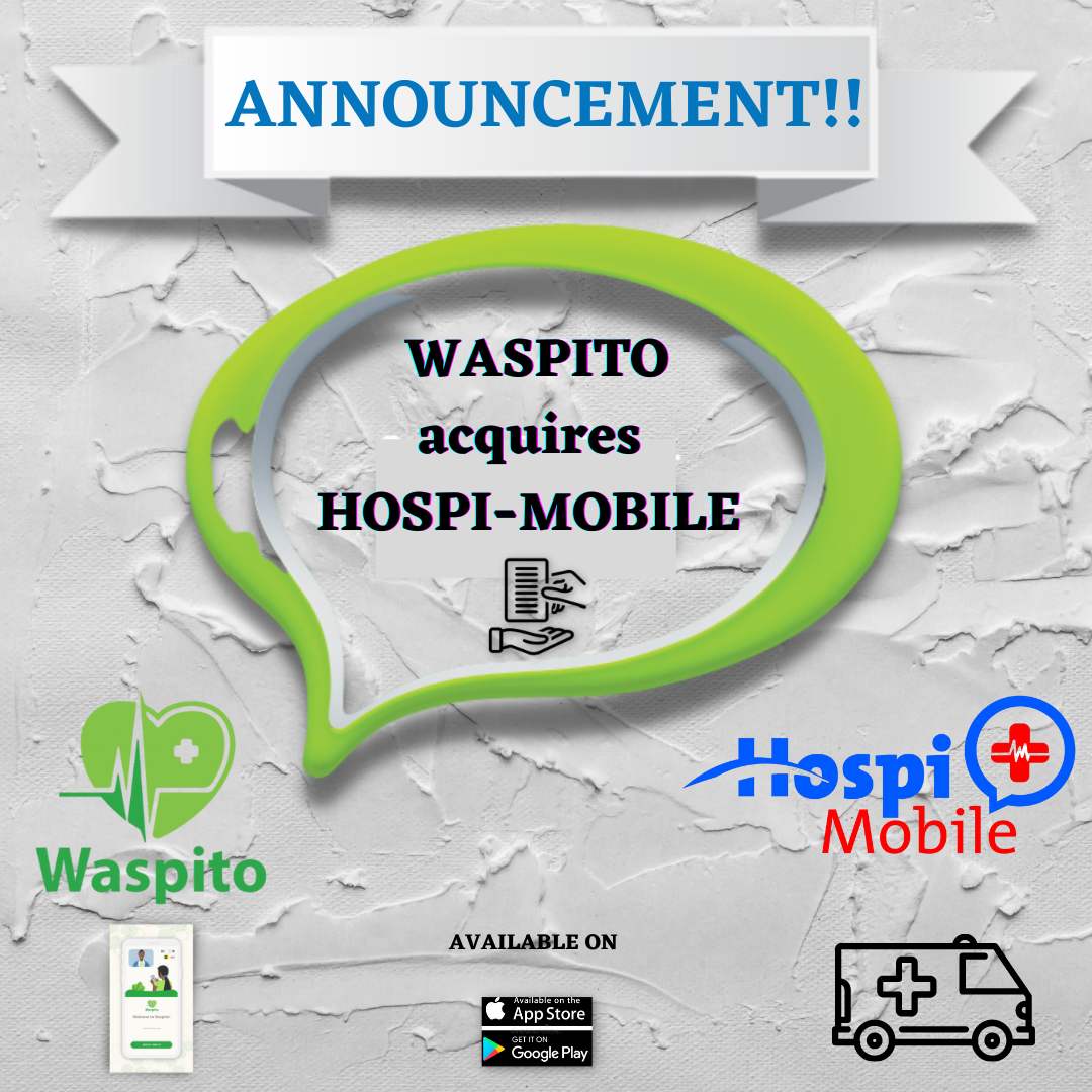 Waspito acquires Hospi-Mobile, a Cameroon based telemedecine Company