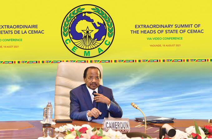 CEMAC Summit: Paul Biya chairs videoconference, highlights COVID-19 as major setback in development of subregion