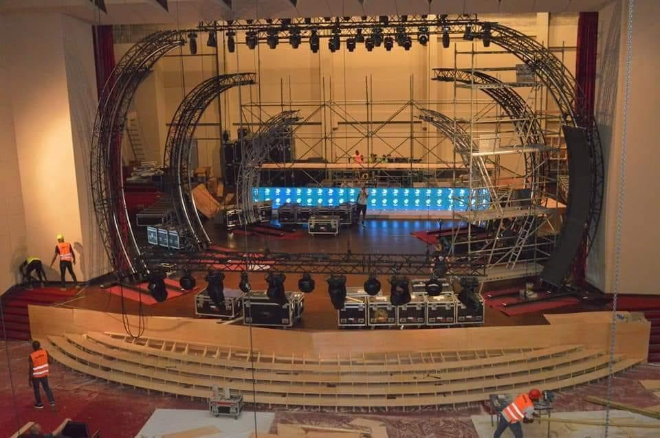 AFCON 2021 Draw - Yaounde: Preparations heighten few hours to event