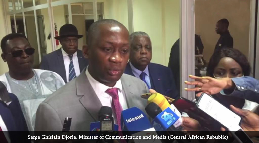 MINCOM: Rene Emmanuel Sadi meets CAR Communication Minister, encourages citizens of neighbouring country to grab training opportunities in Cameroon