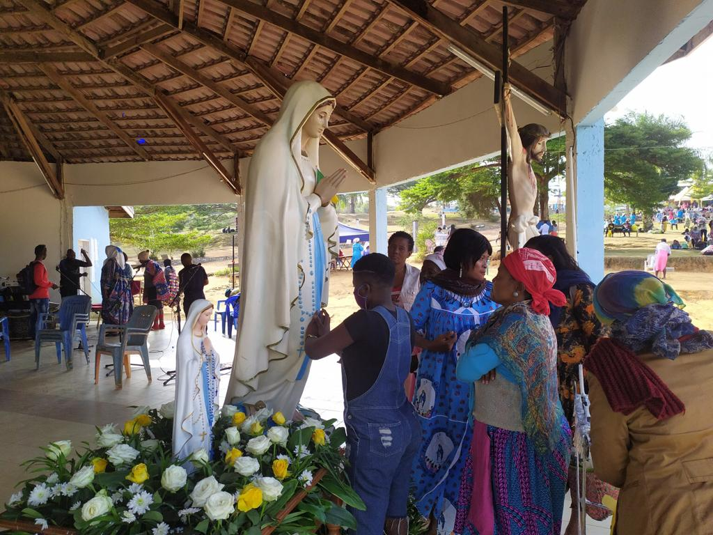 Assumption Day: Visitors of Nsimalen Marian Sanctuary give testimonies of miracles