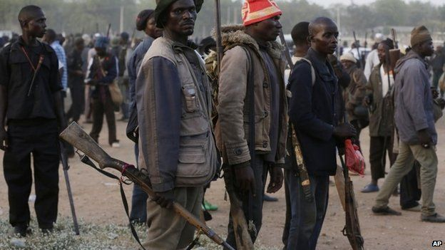 Far North: Security material handed to vigilante groups for fight against Boko Haram